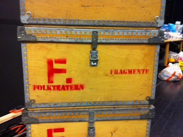 FRAGMENTE på turne 2012, foto Folkteatern Gbg