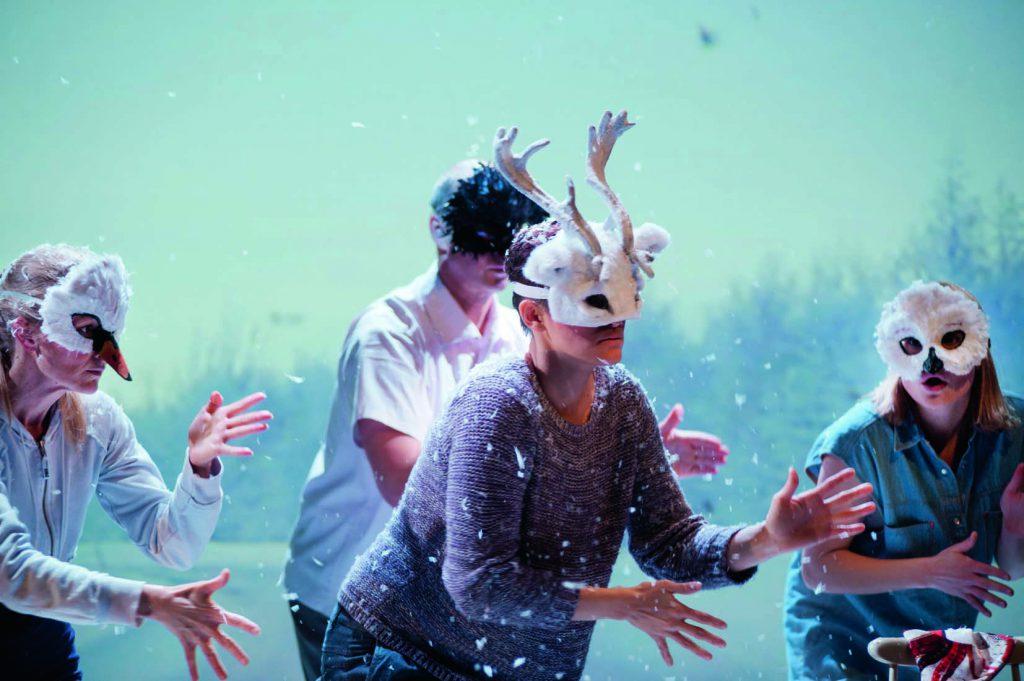 Giron sami theater 2013, När vinterns stjärnor lyser här, foto Anders Alm