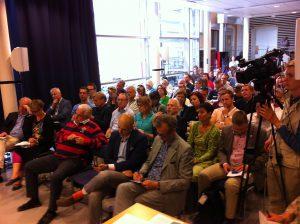 Vad är kulturen till för, Almedalen 2013, publiken Foto Linde Sjöstedt