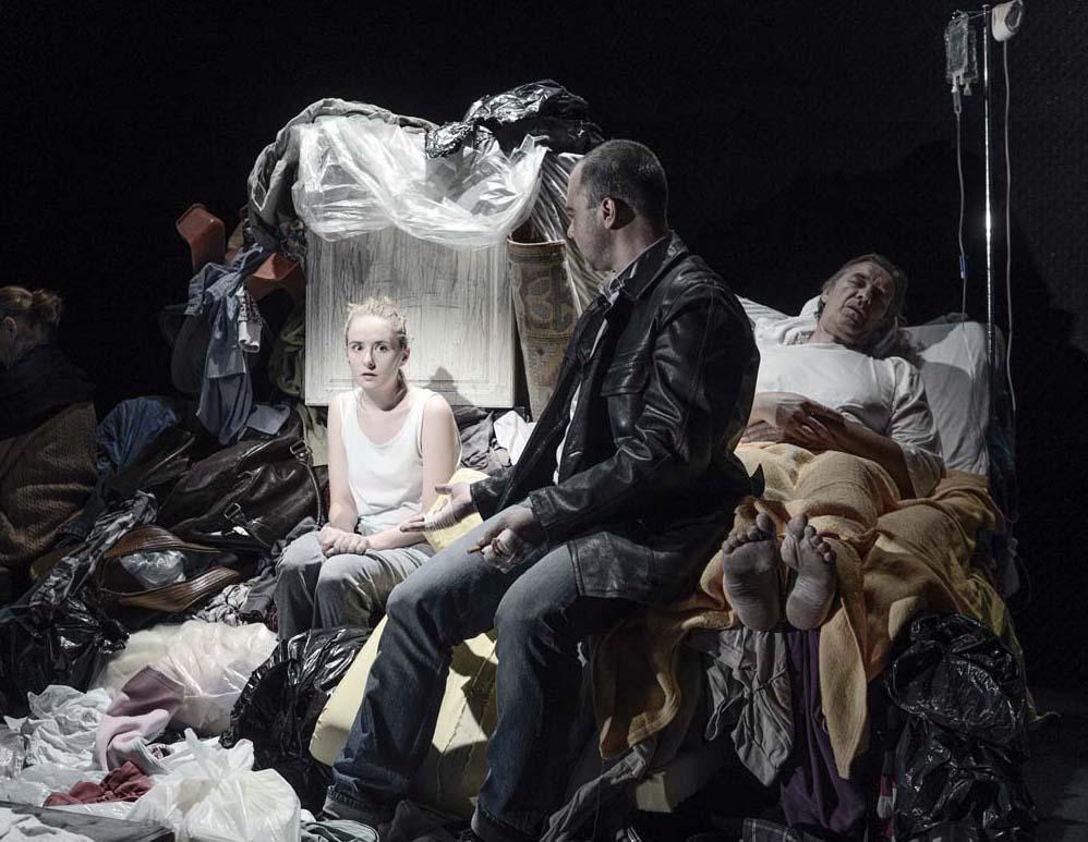FRAGMENTE, Anna Ackzell, Sergej Merkusjev och Anders Granell, foto Patrik Gunnar Helin