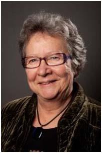 Sinikka Bohlin (s), styrelseordförande för Folkteatern Gävleborgs styrelse och ny i Länsteatrarnas styrelse, foto Folkteatern Gävleborg