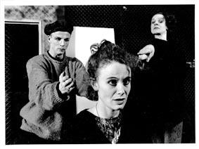Regionteatern Blekinge Kronoberg, Läärare, foto Hans Runesson 1994