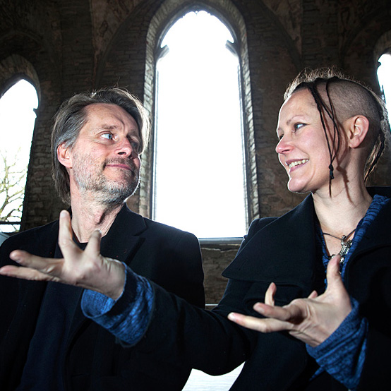 Thomas Sundström och Virpi Pahkinen, foto Stig Hammarstedt