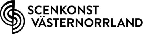 Scenkonst Västernorrlands nya logtype