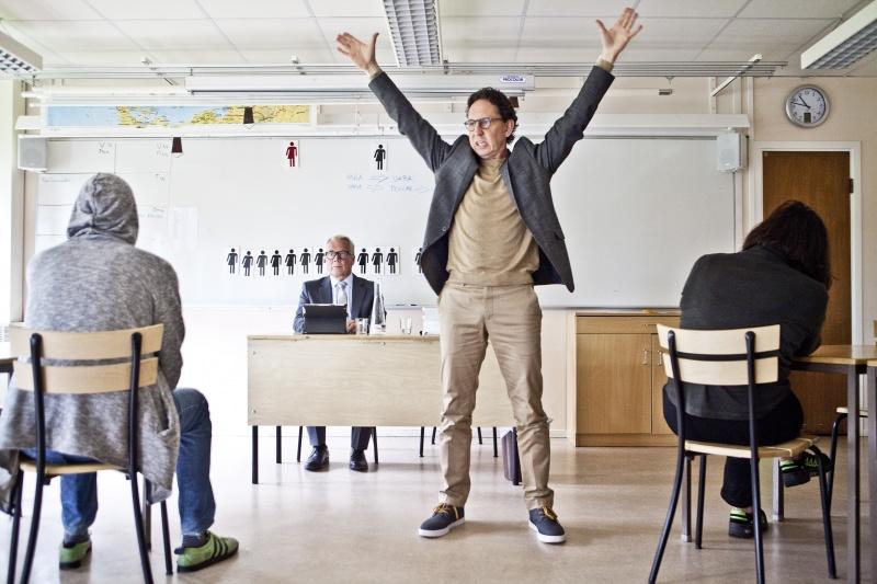 Den avvikande meningen, Regionteater Väst, Jan Coster, Michael Engberg , foto Lina Ikse