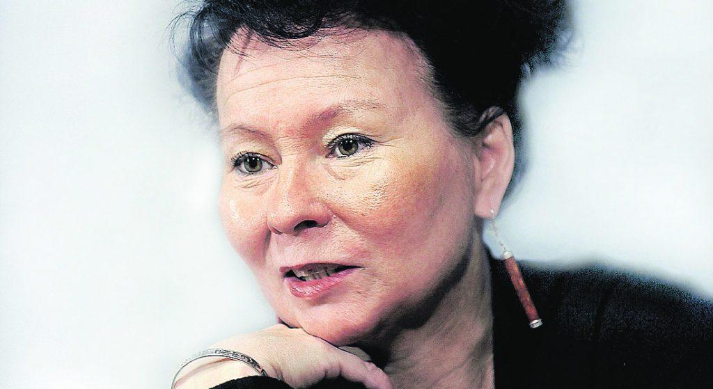 Åsa Simma, ny teaterchef på Giron Sámi Teáhter, foto Håkan Gidlöv
