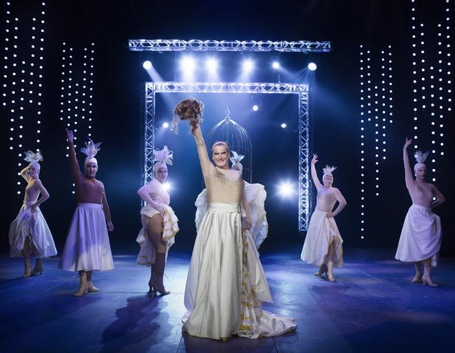 La Cage aux Folles, Östgötateatern, 2016, foto Markus Gårder
