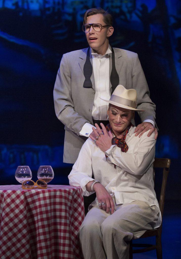 La Cage aux Folles, Östgötateatern, 2016, Pontus Plænge och Richard Carlsohn, foto Markus Gårder