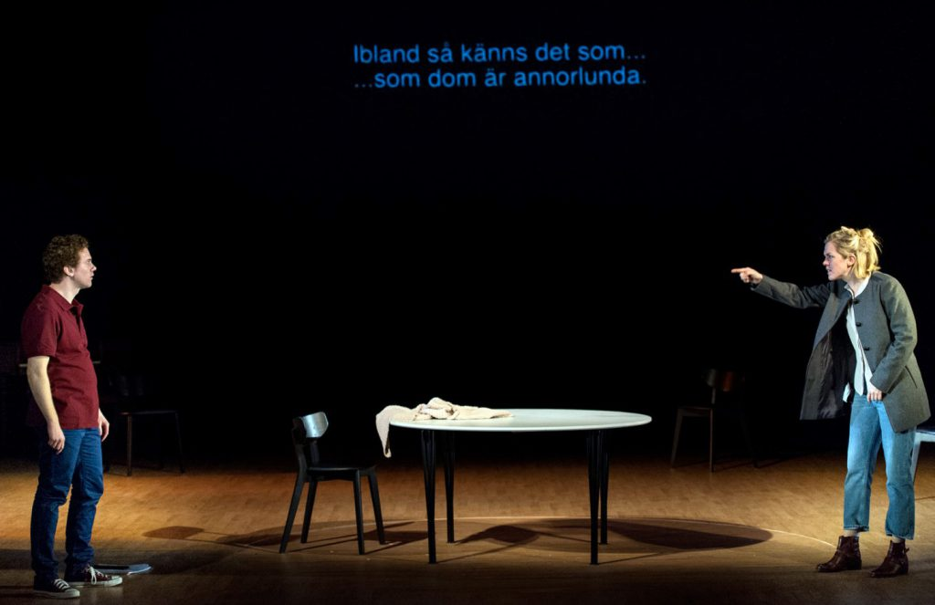 Från föreställningen Tribes som ingick i DoT, foto Kicki Nilsson Icon Photography